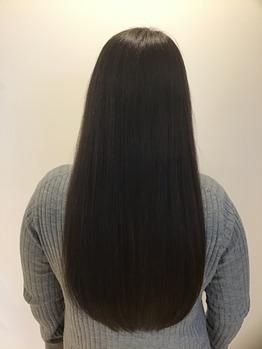 美髪カラーと栄養たっぷりエステ☆