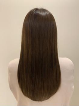 髪の内部までしっかり届く♪美髪エステ♪